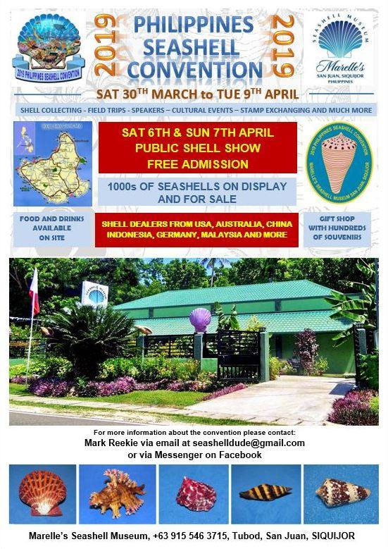 2019 Philippines Seashell Convention @ Marelle's Seashell Museum | San Juan | Central Visayas | Philippines